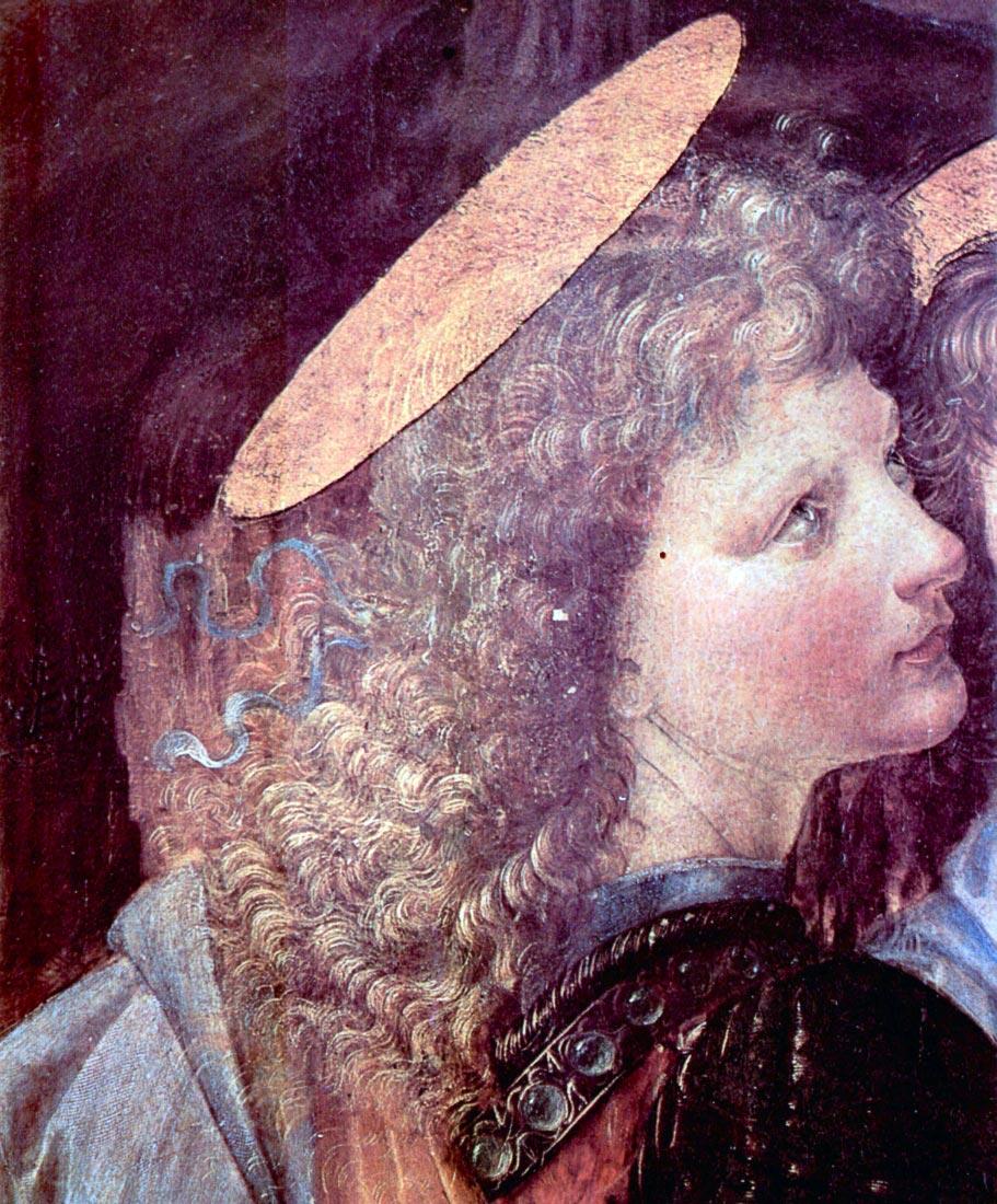 The Baptism of Christ detail [2] - Da Vinci